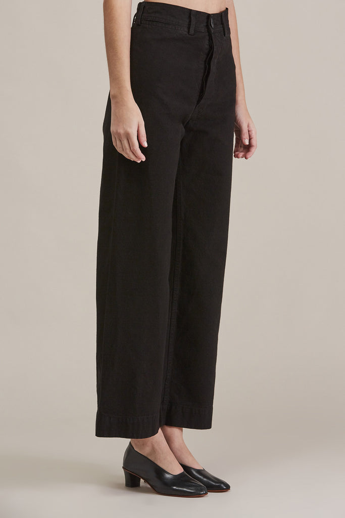 Sailor Pant, Black by Jesse Kamm @ Kick Pleat - 3