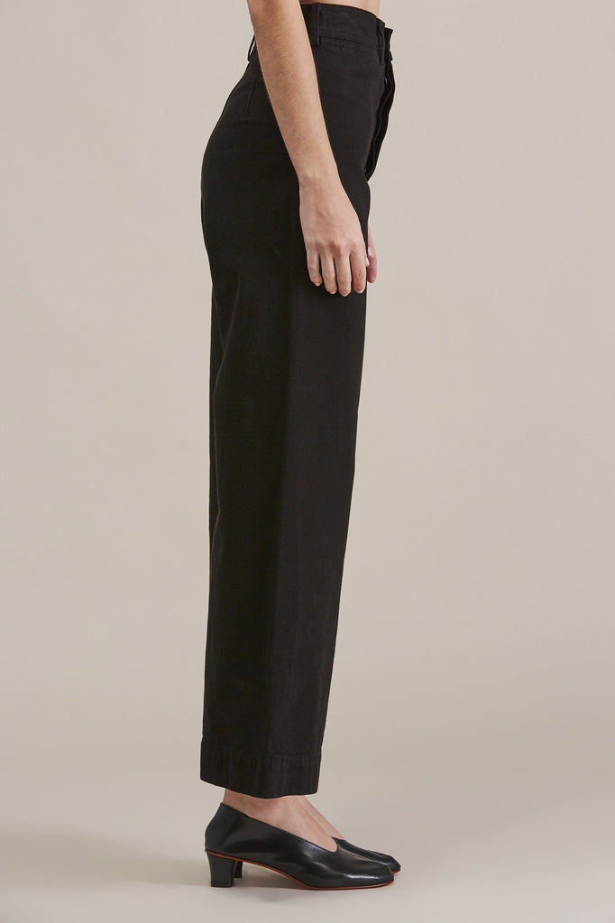 Sailor Pant, Black by Jesse Kamm @ Kick Pleat - 4