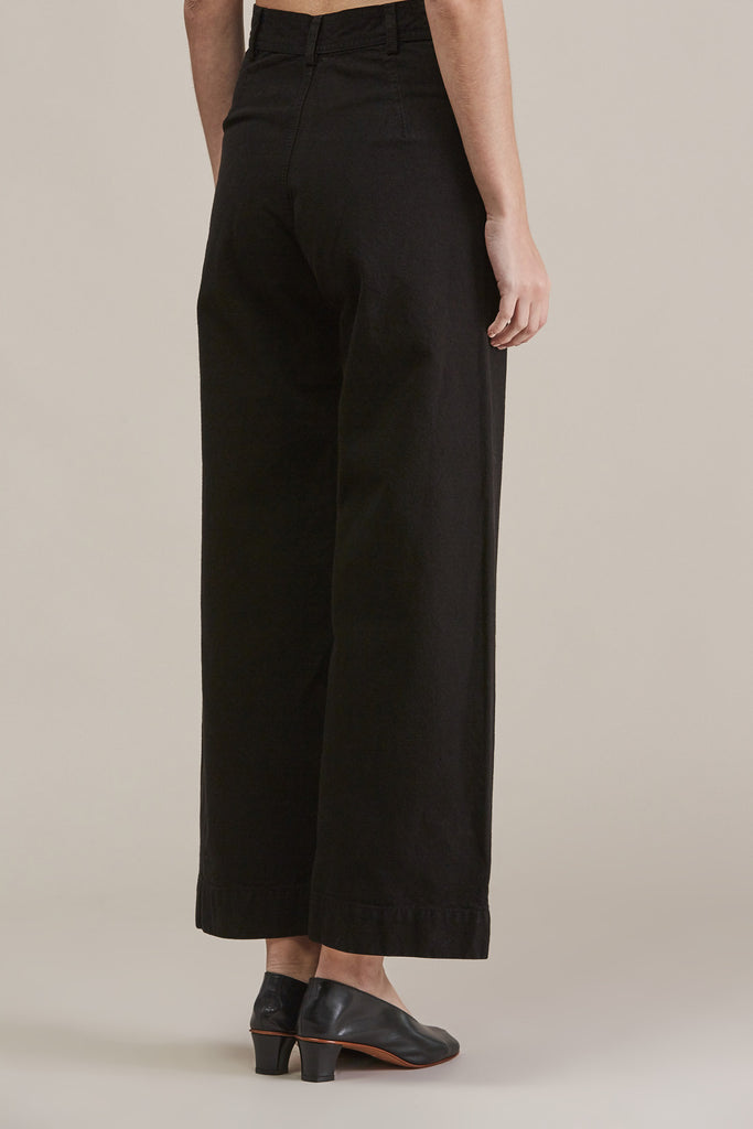 Sailor Pant, Black by Jesse Kamm @ Kick Pleat - 5