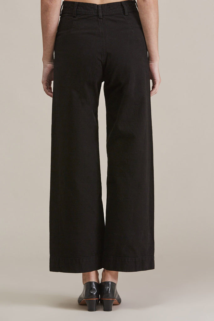Sailor Pant, Black by Jesse Kamm @ Kick Pleat - 6