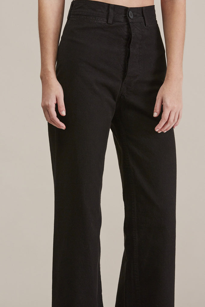 Sailor Pant, Black by Jesse Kamm @ Kick Pleat - 7