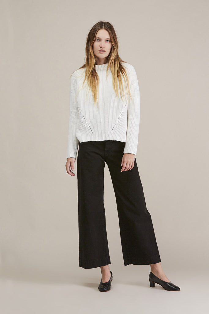 Sailor Pant, Black by Jesse Kamm @ Kick Pleat - 2