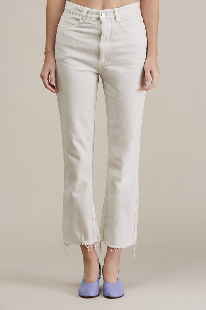 Slim Legion Jean, Dirty White by Rachel Comey @ Kick Pleat - 1