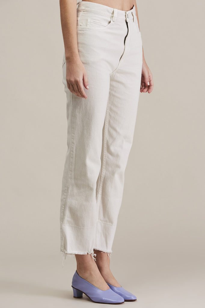 Slim Legion Jean, Dirty White by Rachel Comey @ Kick Pleat - 3