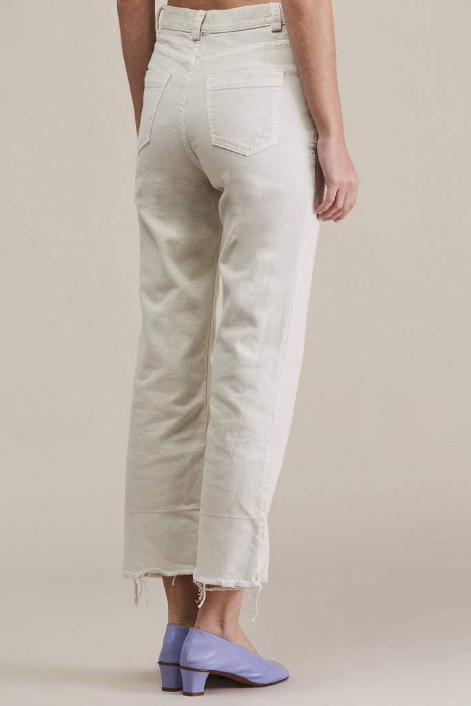 Slim Legion Jean, Dirty White by Rachel Comey @ Kick Pleat - 5
