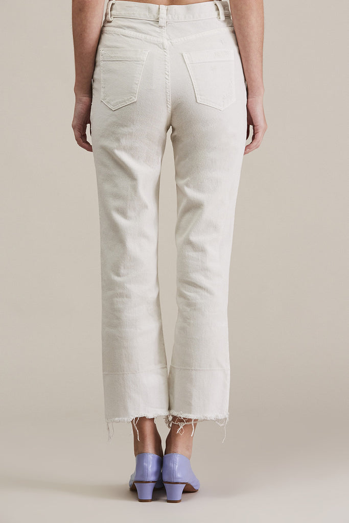 Slim Legion Jean, Dirty White by Rachel Comey @ Kick Pleat - 6
