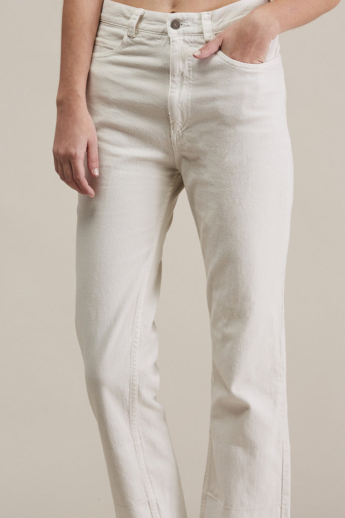 Slim Legion Jean, Dirty White by Rachel Comey @ Kick Pleat - 7