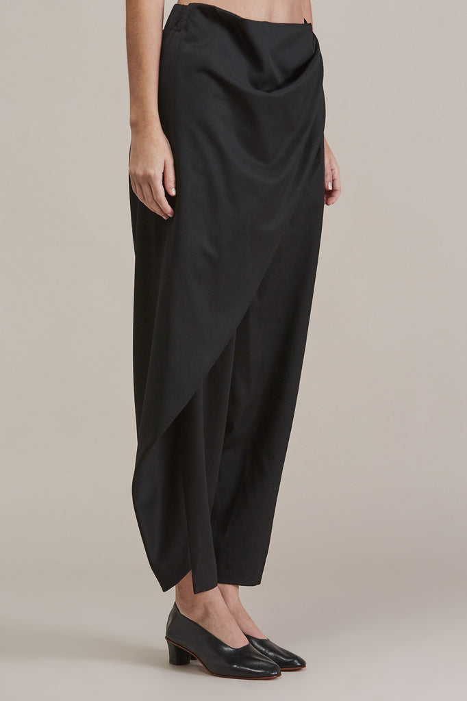 Sprout Bottom, Black by Issey Miyake @ Kick Pleat - 4