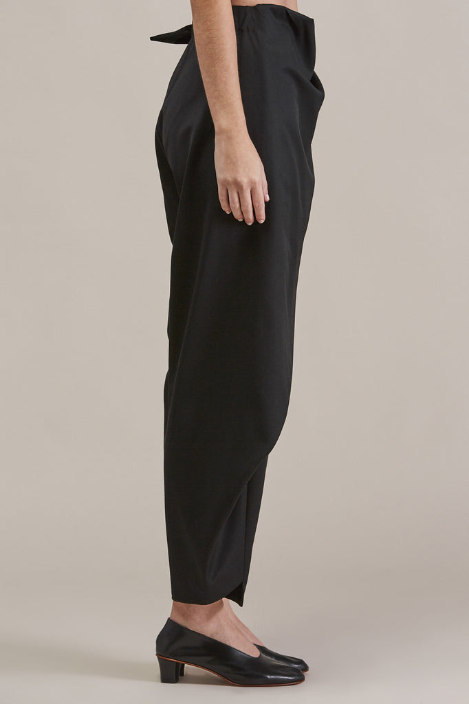 Sprout Bottom, Black by Issey Miyake @ Kick Pleat - 5