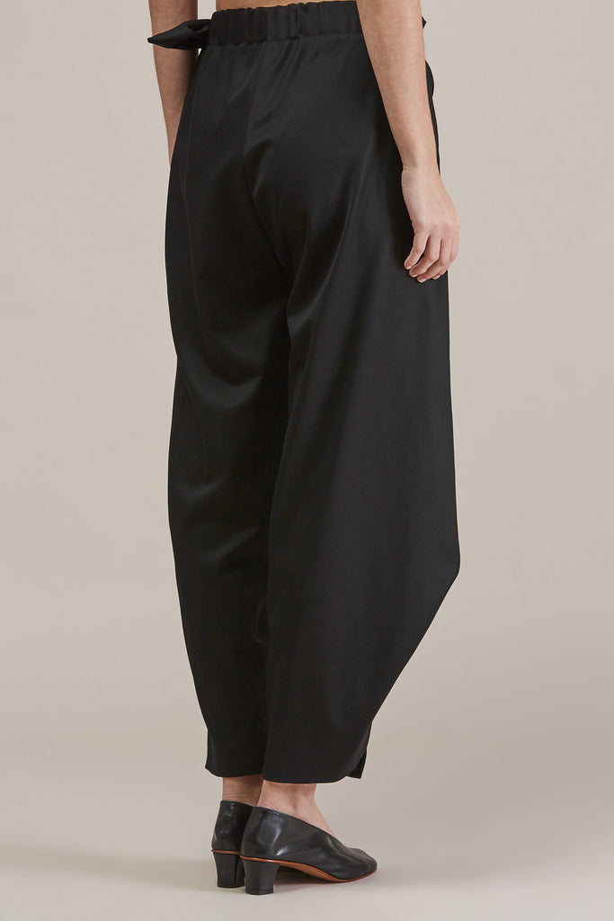 Sprout Bottom, Black by Issey Miyake @ Kick Pleat - 6