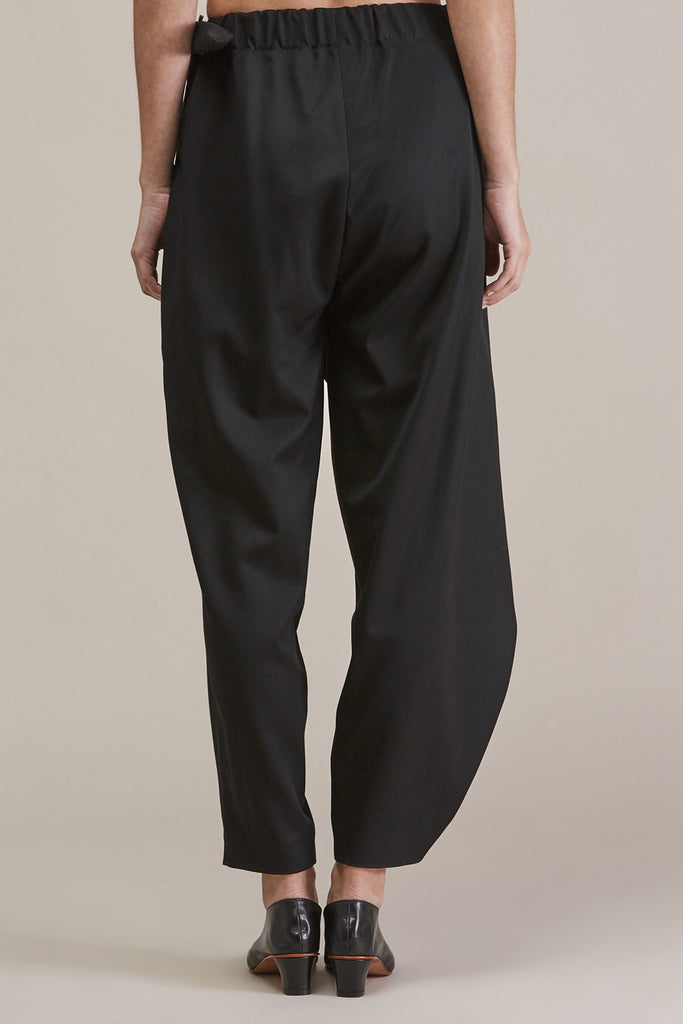 Sprout Bottom, Black by Issey Miyake @ Kick Pleat - 7