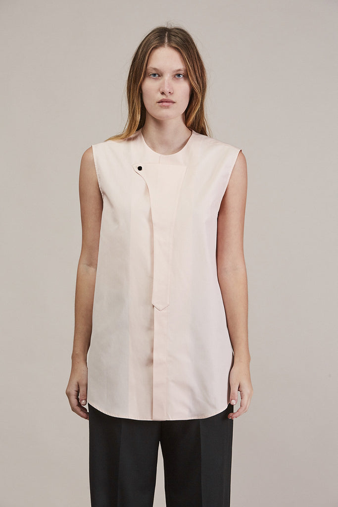 Sleeveless button down by JIL SANDER @ Kick Pleat - 2