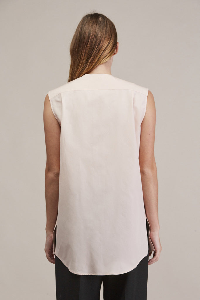 Sleeveless button down by JIL SANDER @ Kick Pleat - 6