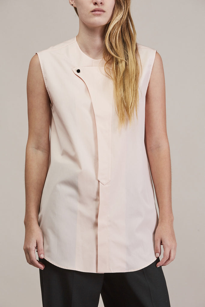 Sleeveless button down by JIL SANDER @ Kick Pleat - 7