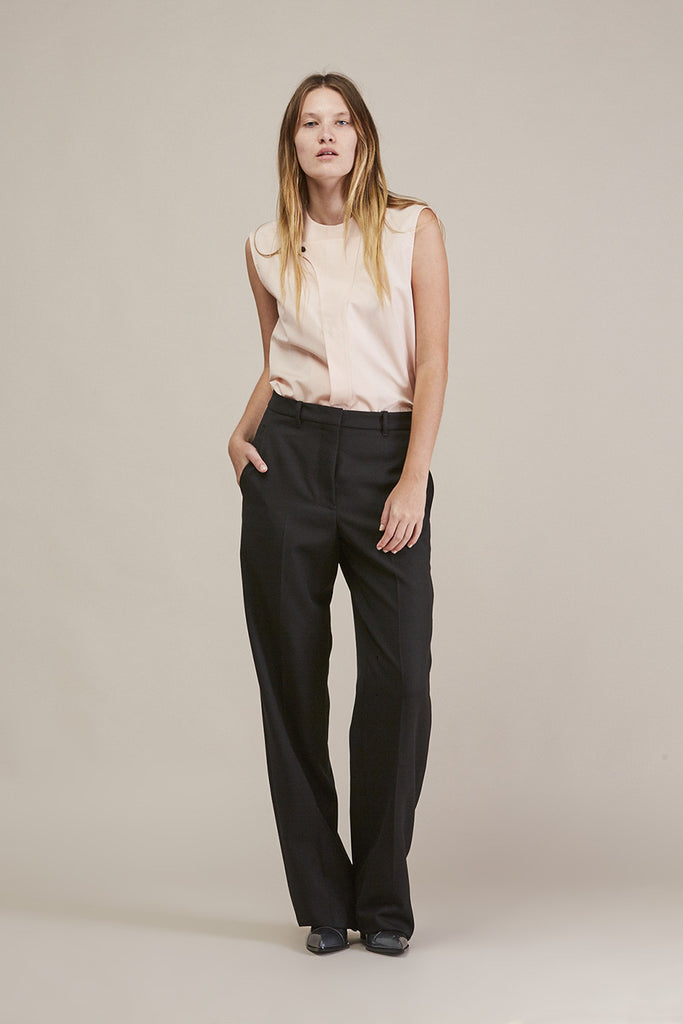 Sleeveless button down by JIL SANDER @ Kick Pleat - 8