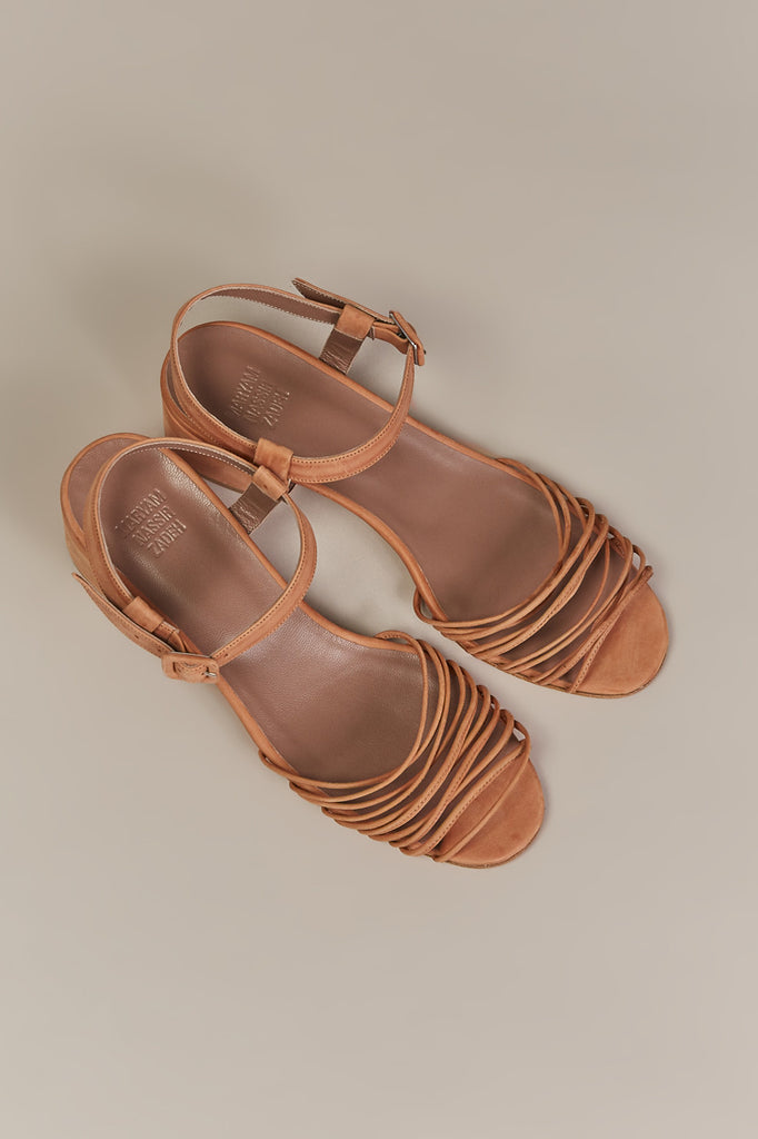 Lulu sandal by Maryam Nassir Zadeh @ Kick Pleat - 6