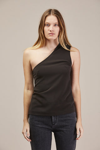 Michelle One Shoulder tank top