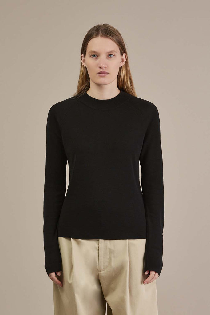 Prospero mock neck sweater