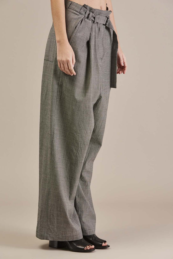 Penny Trousers, Plaid - Christian Wijnants