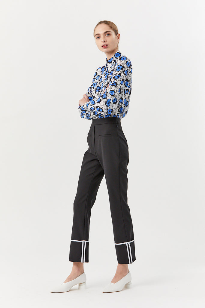 ELLERY - Bembe turn up cuff pant