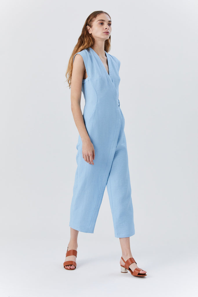 Steadfast Jumpsuit, Sky Blue