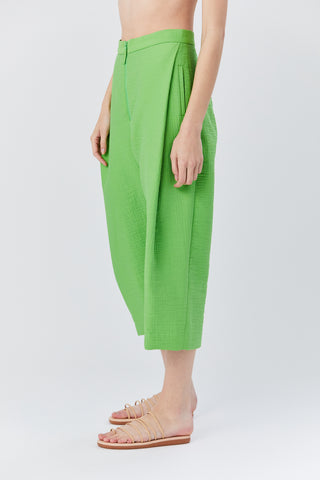 Cropped Pant, Celery