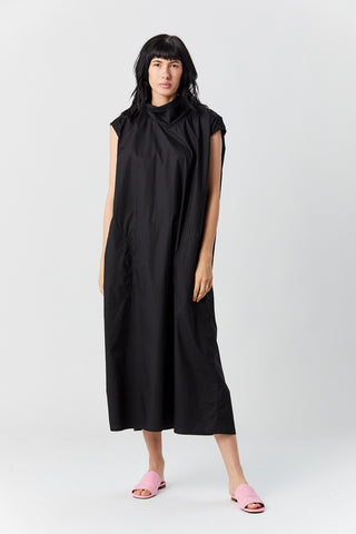 Didi mock neck dress, Black