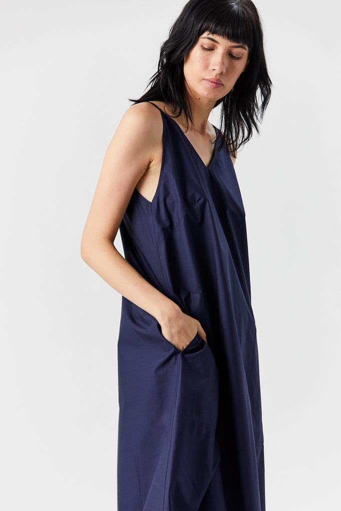 Deal tank dress, Navy