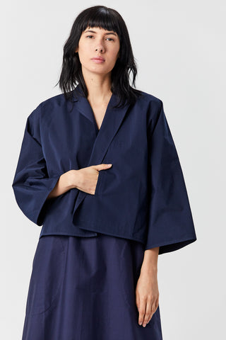 Cabana Short Jacket, Navy