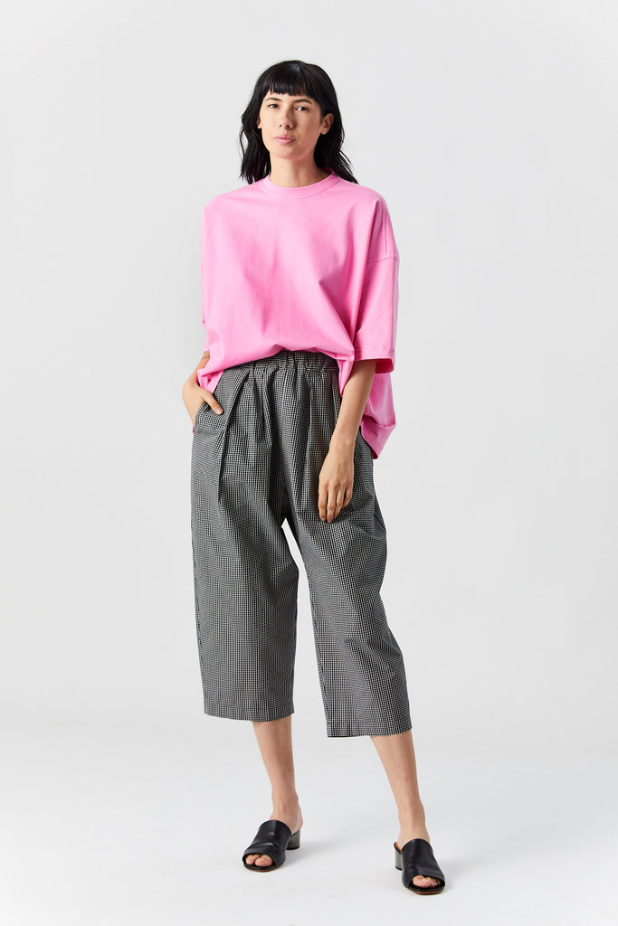 Paloma full pant, Black Check
