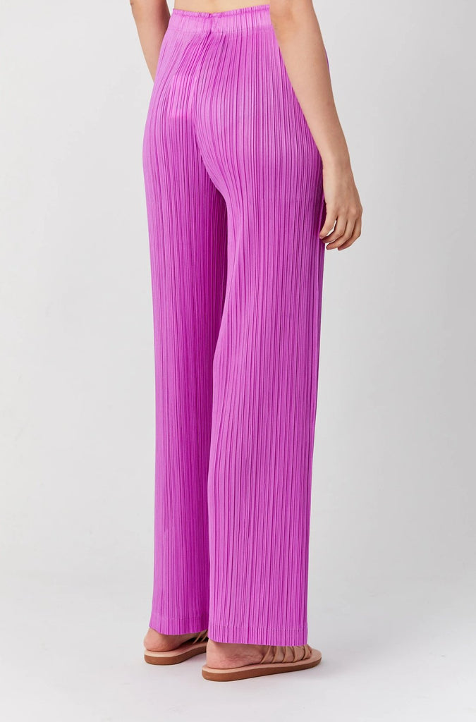 PLEATS PLEASE BY ISSEY MIYAKE - Monthly Colors Pants, Magenta