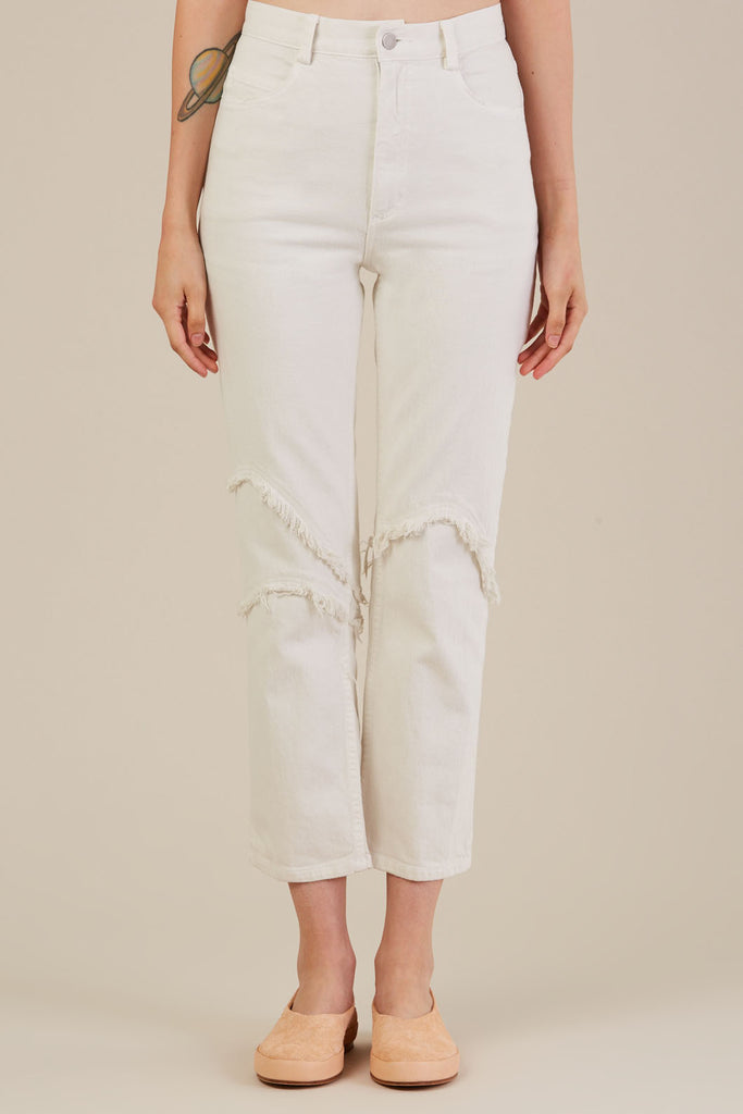 Ticklers pant, Dirty White