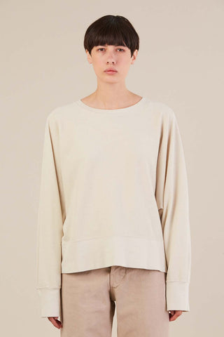 dolman sweater, Almond