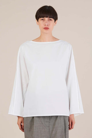 Bento Blouse, White