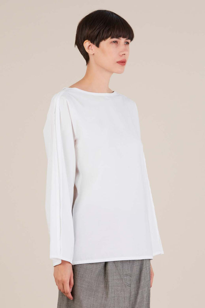 Bento Blouse in White by Sofie D'hoore
