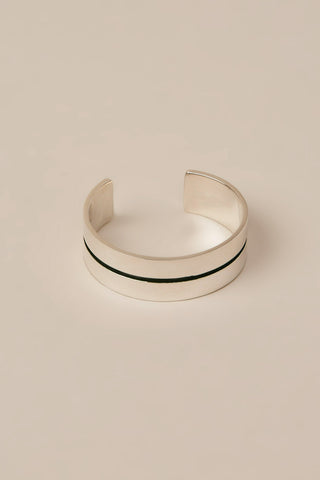 Mapplethorpe 2 cuff, Silver