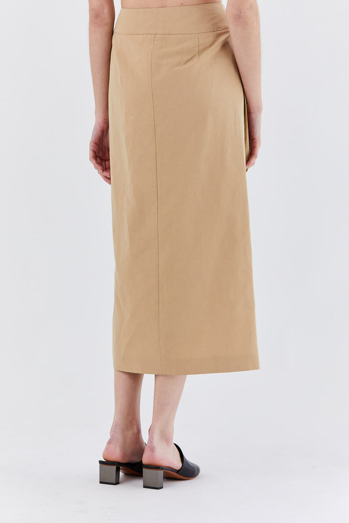 Dušan - skirt with pocket, desert