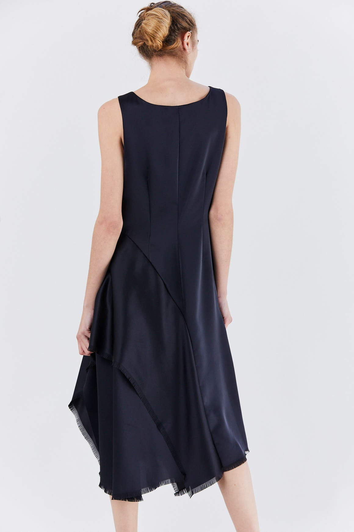 cédric charlier - sash dress, navy