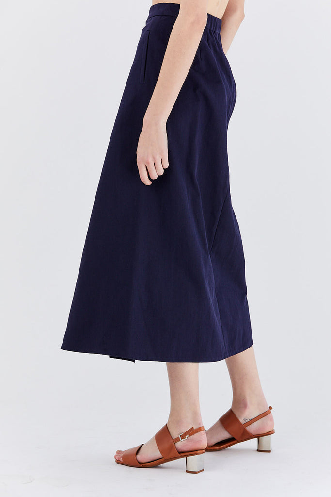 Stephan Schneider - Bucket Skirt, navy