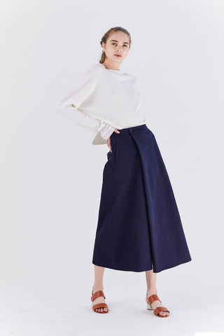 Bucket Skirt, navy