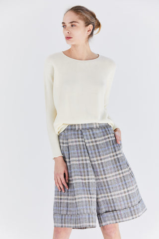 KAIN cotton sweater, White