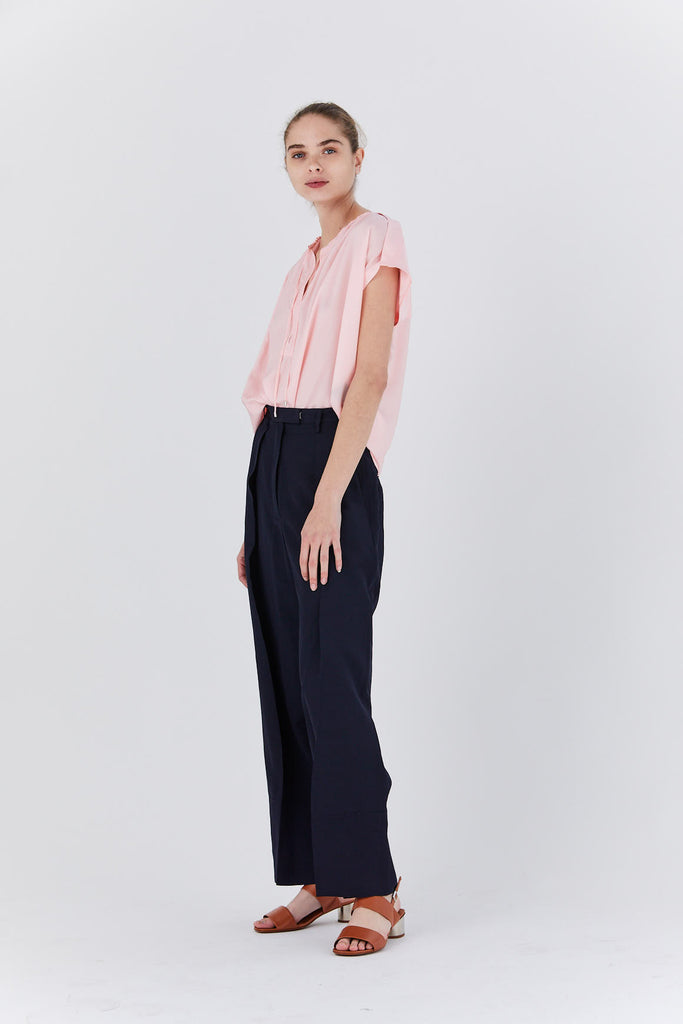Christian Wijnants - Tapanga tie top, pink