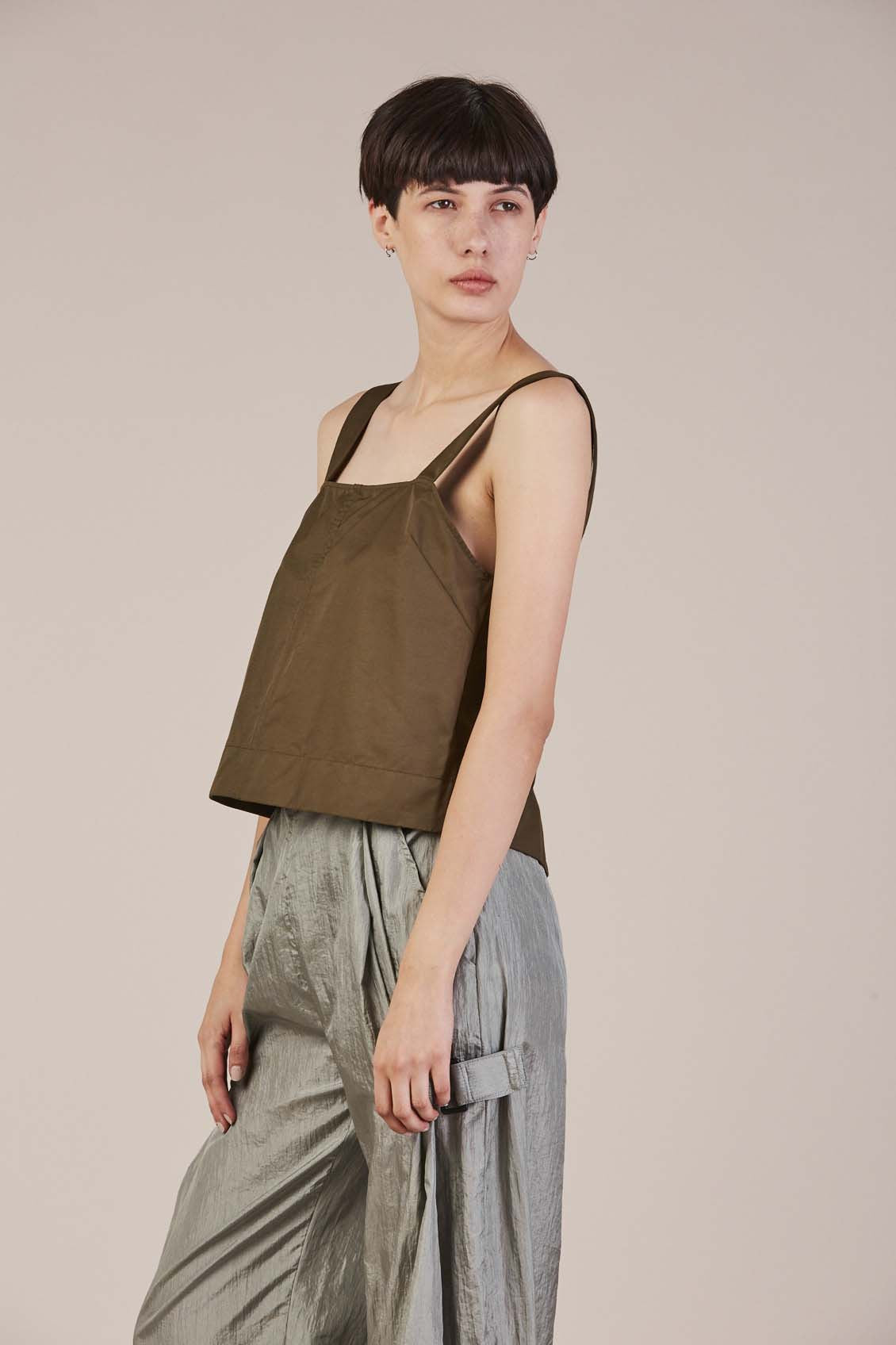 Crosby Top in Military by Rachel Comey