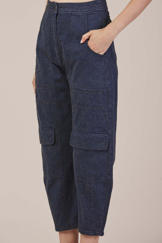 Deviant Pant in Denim by Rachel Comey