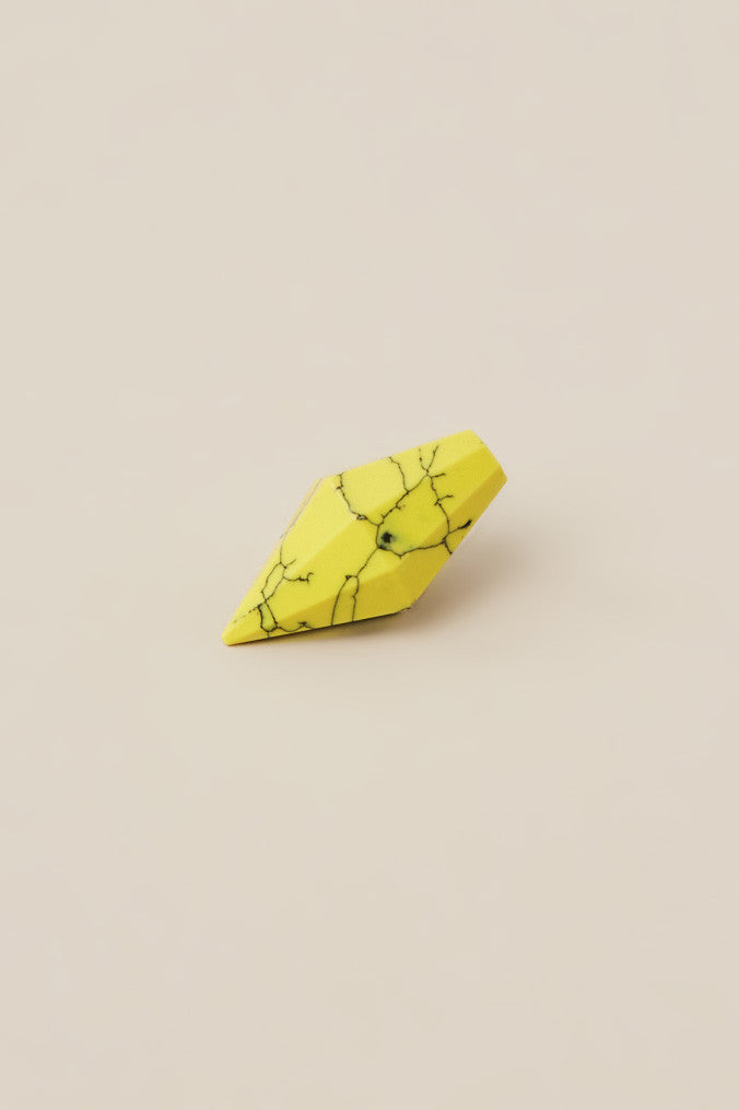 Yellow Turquoise Stone by Kluane