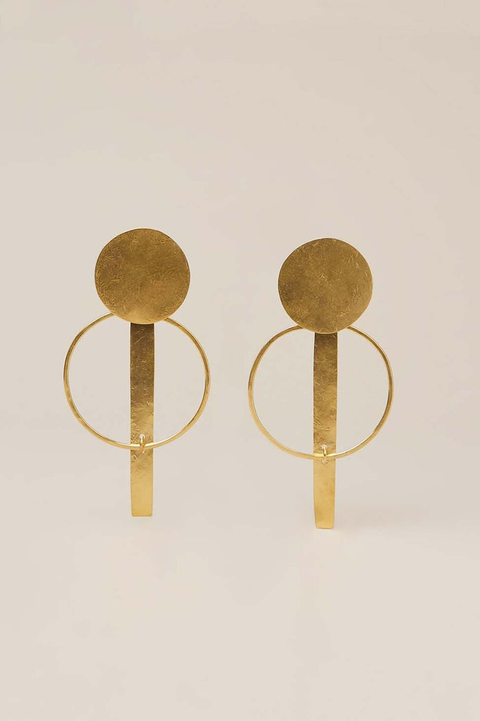 Krikoi XL Hoops, Gold