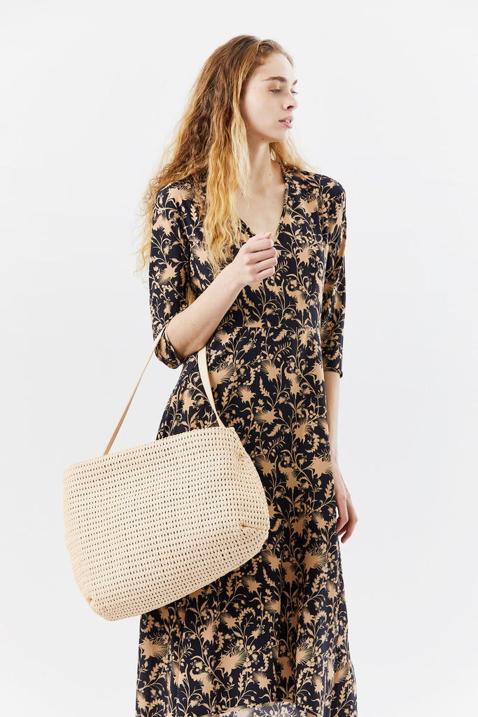 Marsèll - fantasma intreccio shoulder bag , natural