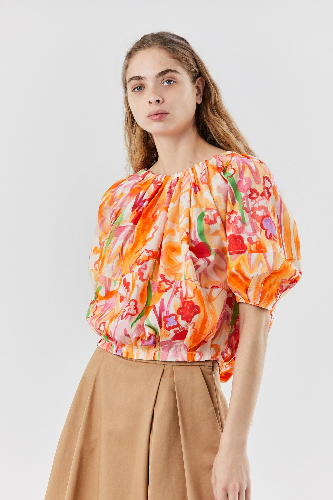 MARNI - puff top, Nectar