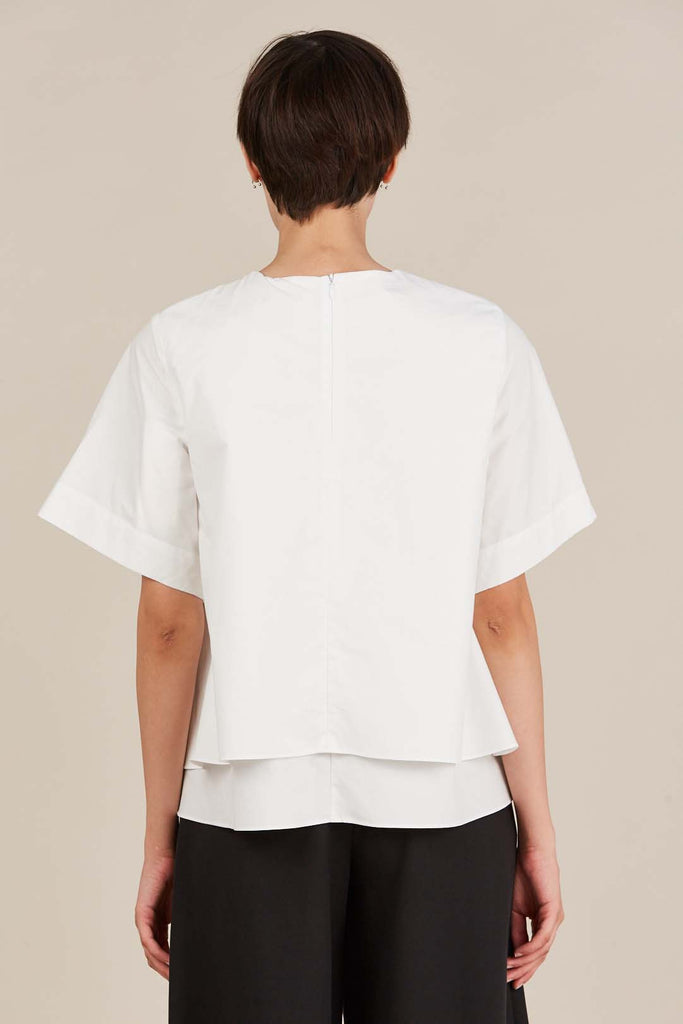 Elise Blouse, White by Fabiana Pigna
