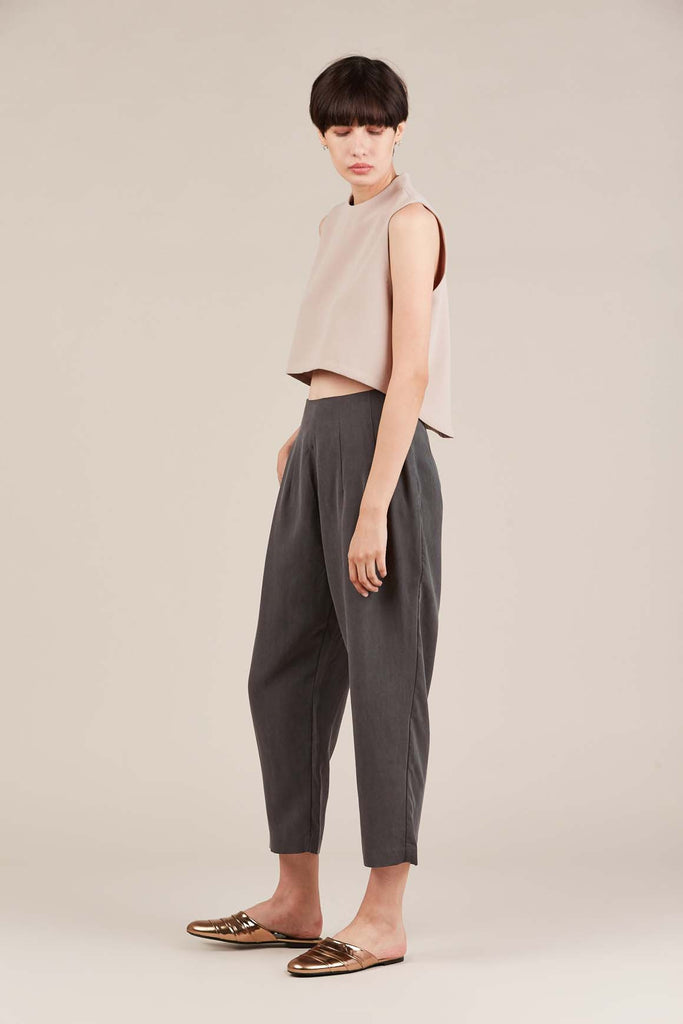 Luc Ly pant, Charcoal